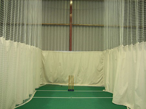 Burwash Cricket Club runs indoor nets throughout the winter